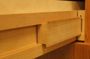 Kulissenauszug aus Holz
