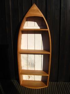Dekoboot - Formverleimtes Recyclingholz aus einem individuellen Spezialkurs